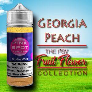 Georgia Peach Flavor