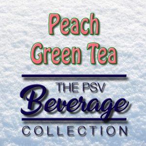 Peach Green Tea Flavor | Tobacco-Free Nicotine