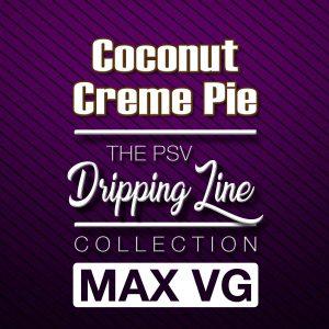 Coconut Creme Pie Flavor Drip Line | Tobacco-Free Nicotine