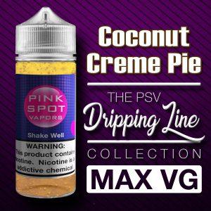 Coconut Creme Pie Flavor Drip Line