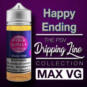 Happy Ending Flavor Drip Line