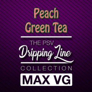 Peach Green Tea Flavor Drip Line | Tobacco-Free Nicotine