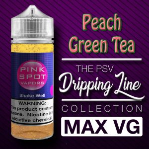 Peach Green Tea Flavor Drip Line