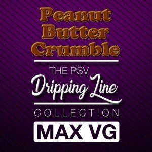 Peanut Butter Crumble Flavor Drip Line | Tobacco-Free Nicotine