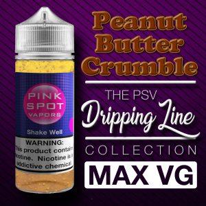 Peanut Butter Crumble Flavor Drip Line