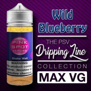 Wild Blueberry Flavor Drip Line