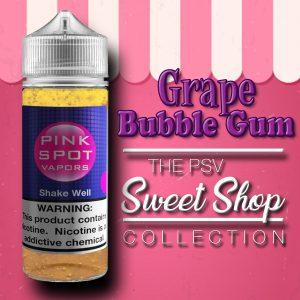 Grape Bubble Gum Flavor