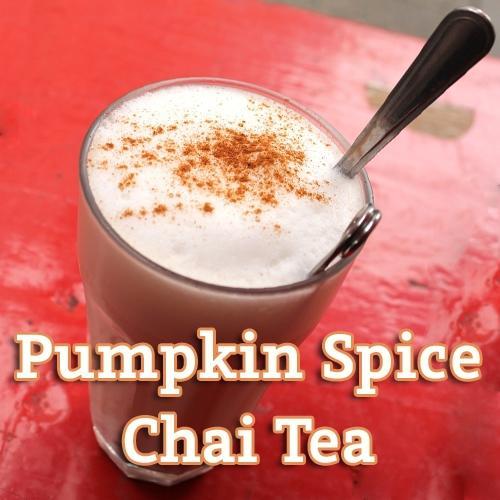 Pumpkin Spice Chai Tea Flavor