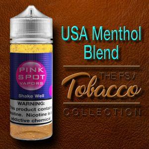USA Menthol Blend Flavor