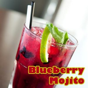 NIC SALTS Blueberry Mojito Flavor