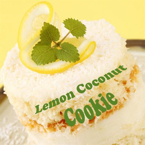 NIC SALTS Lemon Coconut Cookie Flavor