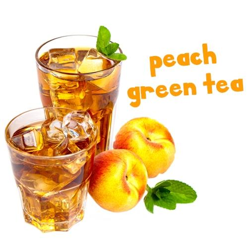 NIC SALTS Peach Green Tea Flavor