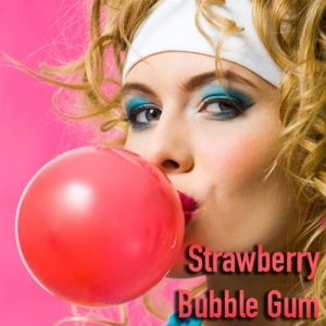 NIC SALTS Strawberry Bubble Gum Flavor