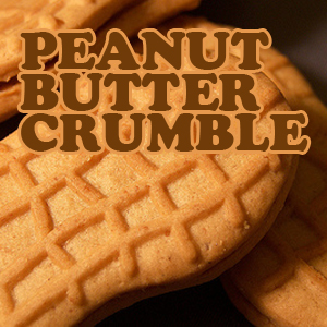 NIC SALTS Peanut Butter Crumble Flavor