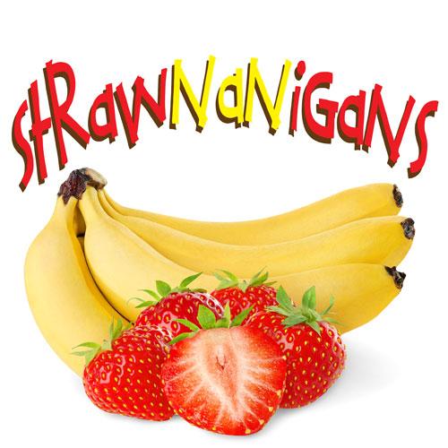 NIC SALTS Strawnanigans Flavor