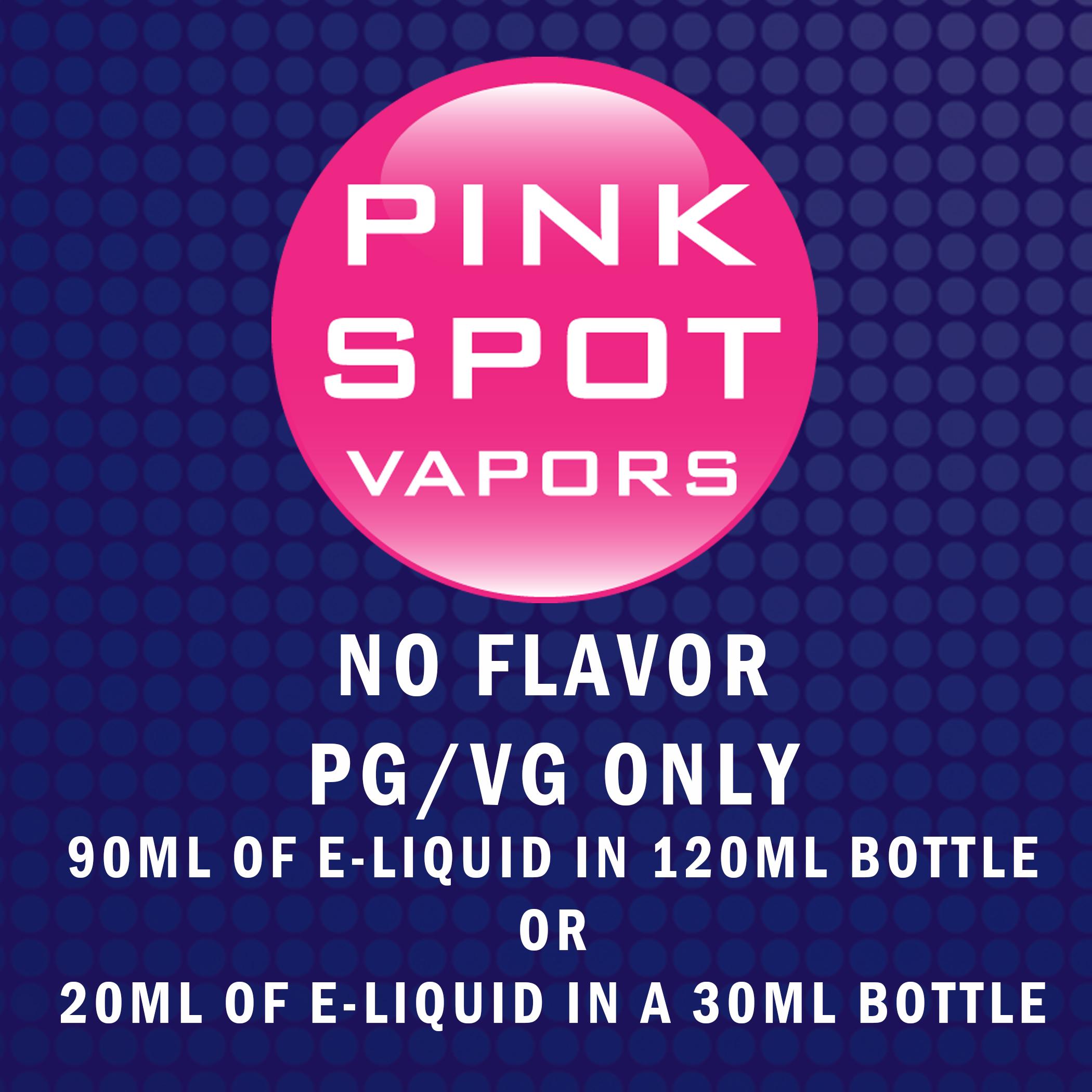PG/VG NO Flavor